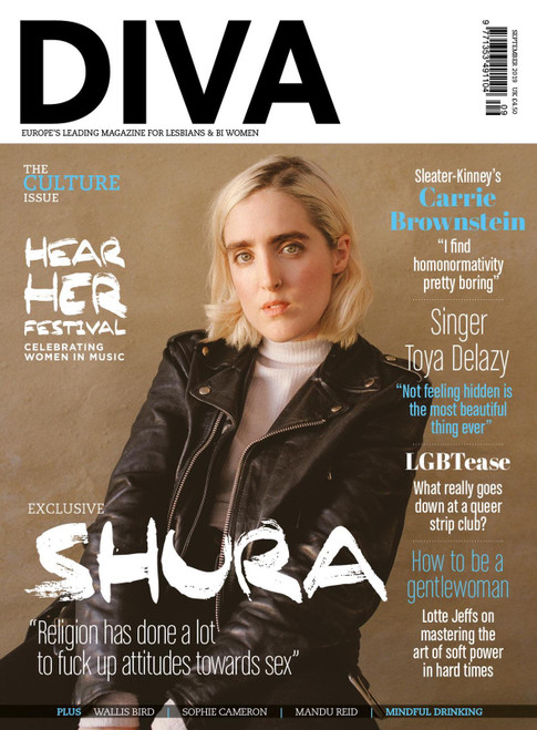 DIVA Magazine September 2019 - Shura cover