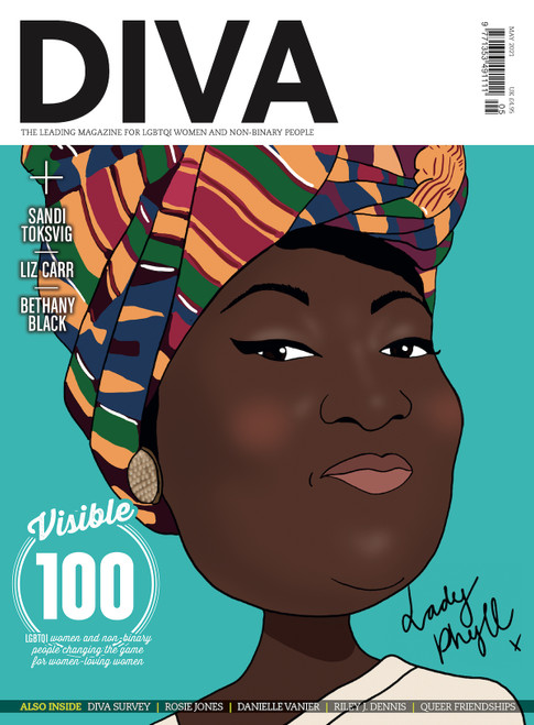 "Out just in time for Lesbian Visibility Week, this extra special issue of DIVA boasts not one, not two, but four iconic cover stars, lovingly illustrated by Kate Holderness. Choose your fave or collect them all! Pre-order this version to secure your limited edition copy of DIVA with the phenomenal activist, Phyll Opoku-Gyimah, on the cover.  Also in this issue...  The Visible 100: LGBTQI women and non-binary people changing the game for women-loving women  DIVA Survey 2021: The results you need to read  Rosie Jones: ""I hope that people will watch and go, 'If Rosie can do it, I can do it'""  Dear chosen fam: A love letter to queer friendships  Danielle Vanier talks coming out in her 30s and finding her forever love  The porn report: We investigate the pandemic porn boom and reveal the best hot, ethical, queer smut  Riley J. Dennis on the life-changing magic of trans lesbian visibility  PLUS: Staycations, sexy bits and so much more!  PRE-ORDER YOUR COPY NOW!"
