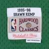 Shawn Kemp Seattle Supersonics Mitchell & Ness Hardwood Classics Swingman Jersey - Green