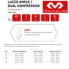 McDavid 195 Ankle Brace With Straps Level 3 Maximum Protection Sizes