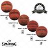 Spalding TF basketballs