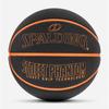 Spalding rubber ball orange