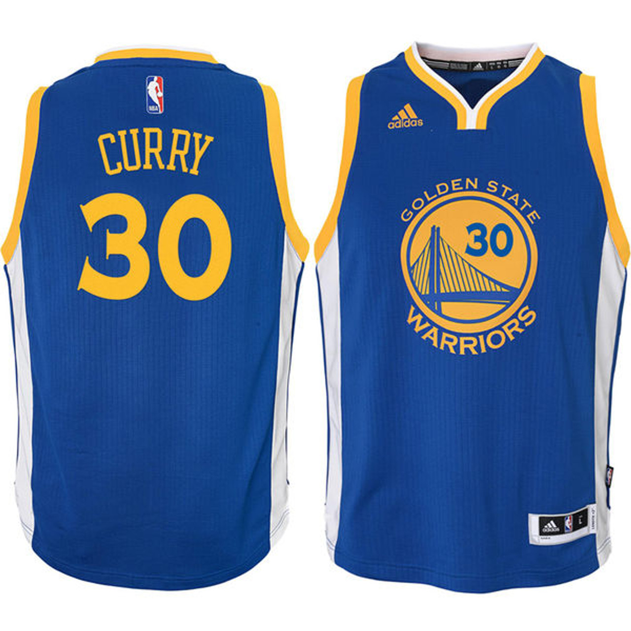 timeless design c5269 cb148 Adidas Stephen Curry Golden State Warriors (Away) Youth Jersey