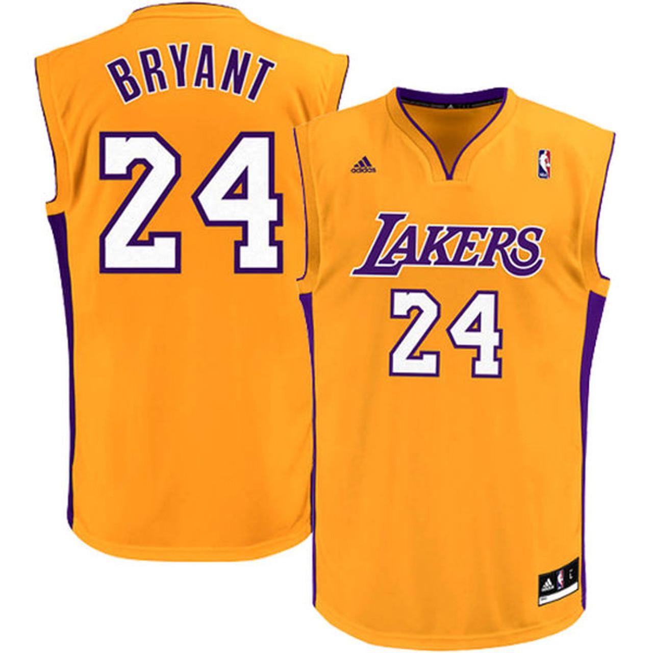 promo code 8359e b1f9b Adidas Kobe Bryant LA Lakers (Away) Youth Jersey