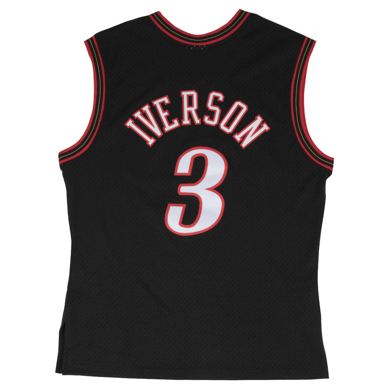 61da95ac4ad Allen Iverson Philadelphia 76ers Mitchell   Ness 2000-01 Hardwood ...