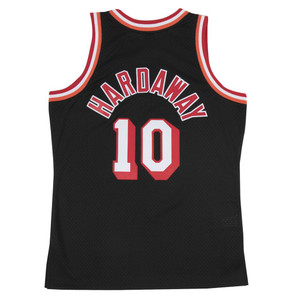 3282566c0 Tim Hardaway Miami Heat Mitchell   Ness 1996-97 Hardwood Classics Swingman  Jersey - Black