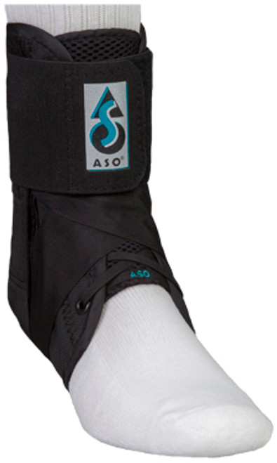 Med Spec ASO Ankle Stabilizer (with stays) in Black