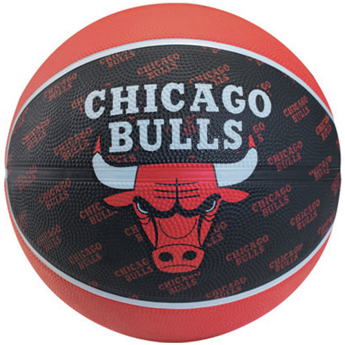 Spalding Chicago Bulls Outdoor Rubber Ball