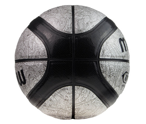 Molten GO7 Series Outdoor Basketball Size:07 Colour: Black/Silver