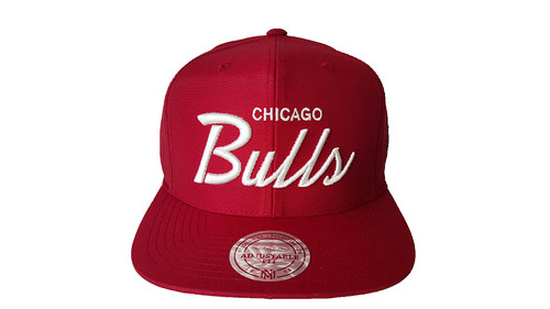 Mitchell & Ness Chicago Bulls Red Snapback