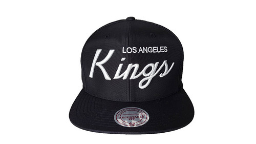 Mitchell & Ness Los Angeles Kings Black Snapback