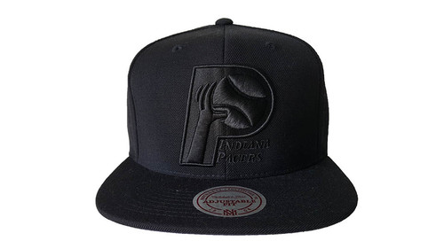 Mitchell & Ness Indiana Pacers Black Snapback