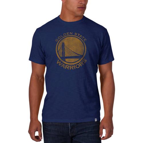 Golden State Warriors Bleacher Blue '47 SCRUM Tee