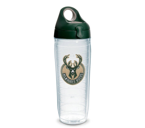 Milwaukee Bucks Logo Emblem Tervis Water Bottle