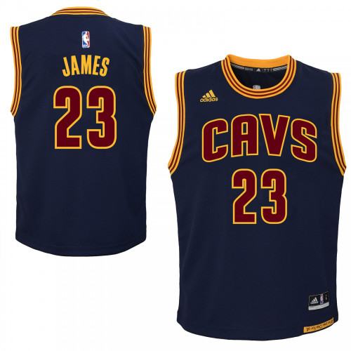 Adidas Lebron James Cleveland Cavaliers Youth Jersey