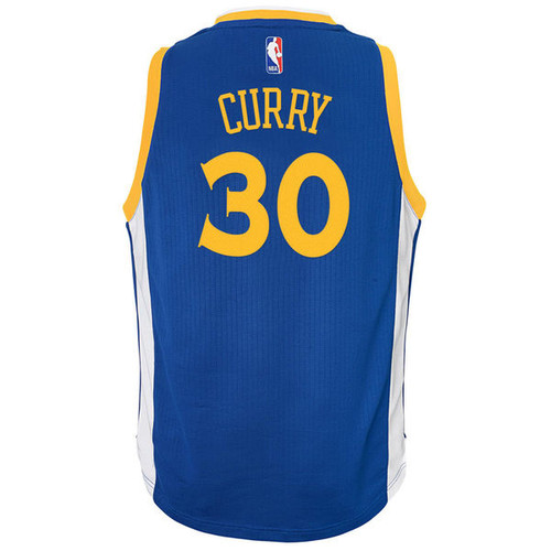timeless design 95734 dd3c5 Adidas Stephen Curry Golden State Warriors (Away) Youth Jersey