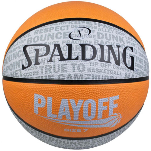 Spalding Playoff Size 6 Orange Basketball
