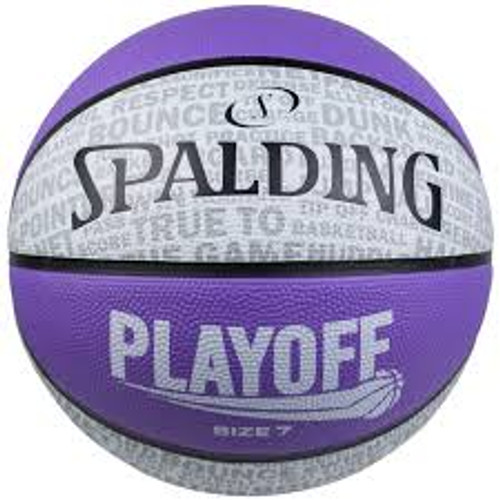 Spalding Playoff Size 6 Purple