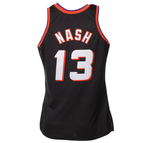 online store 4361b 68113 Steve Nash Phoenix Suns Mitchell & Ness 1996-97 Hardwood Classics Swingman  Jersey - Black