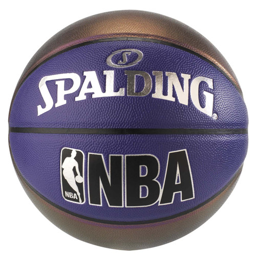 Spalding Indoor/Outdoor Pearl Metallic Basketball Size 7