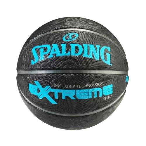 The Spalding® SGT (Soft Grip Technology) basketballs