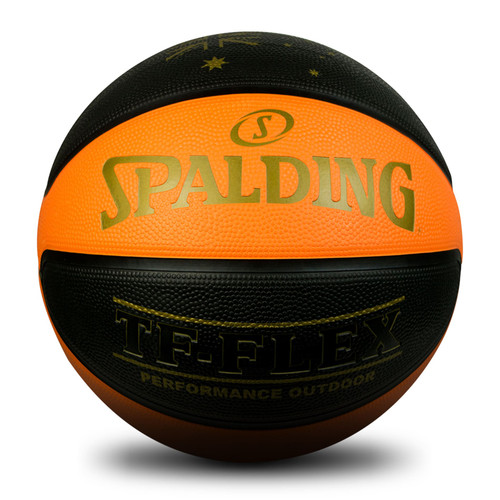 Spalding TF-FLEX Basketball Australia Outdoor Rubber Basketball Size 7