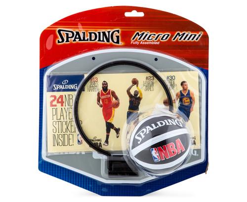 NBA PLAYER STICKER MINI BACKBOARD