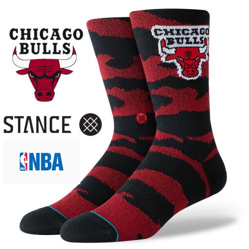 Stance CAMO MELANGE NBA Chicago Bulls Socks