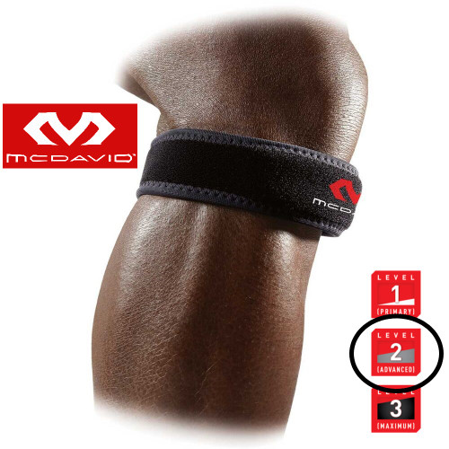 McDavid 414 Knee Patella Strap Leve 2 Protection (Regular size)