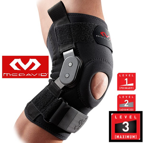 McDavid Knee Brace Support with Metal Hinges