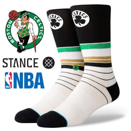 Stance Baseline NBA Boston Celtics Socks