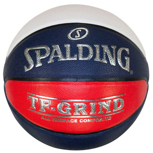 Spalding TF-GRIND Indoor Outdoor All Surface Basketball (Red White Blue))