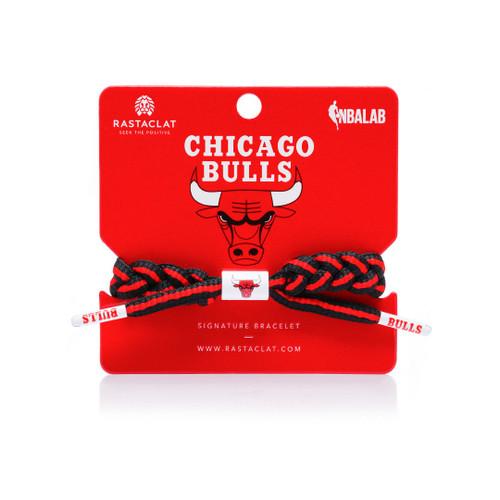 RASTACLAT BRAIDED NBA TEAM BRACELET - Chicago Bulls