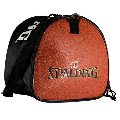 Spalding ball bag Horween leather side