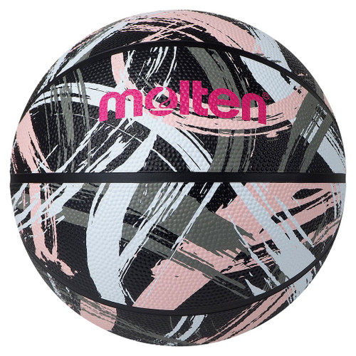 Molten 1601 Series Outdoor Basketball Size 7  Pink / Black