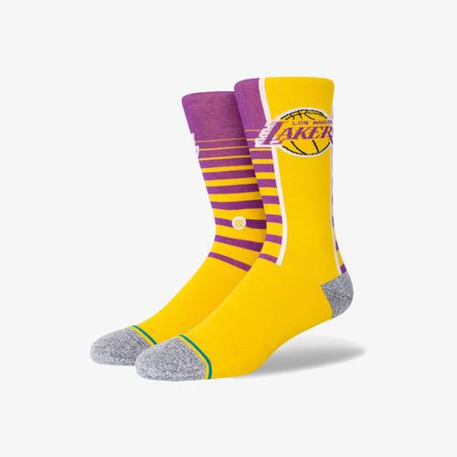 Stance Lakers Gradient Socks side