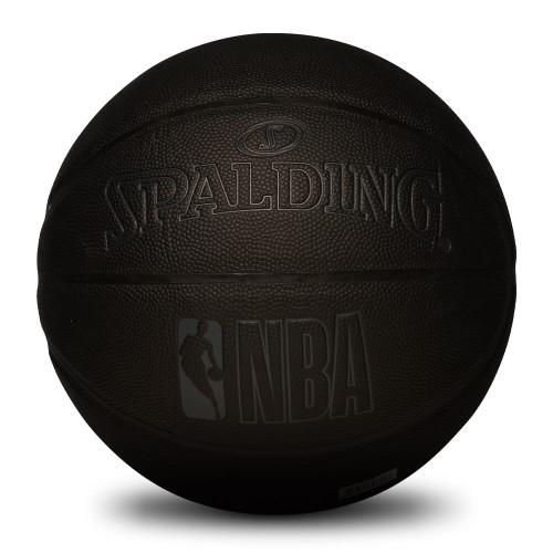 Spalding Mono Black Basketball Front