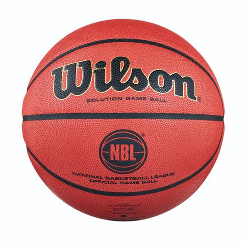 NBL Wilson Solution Basketball Front