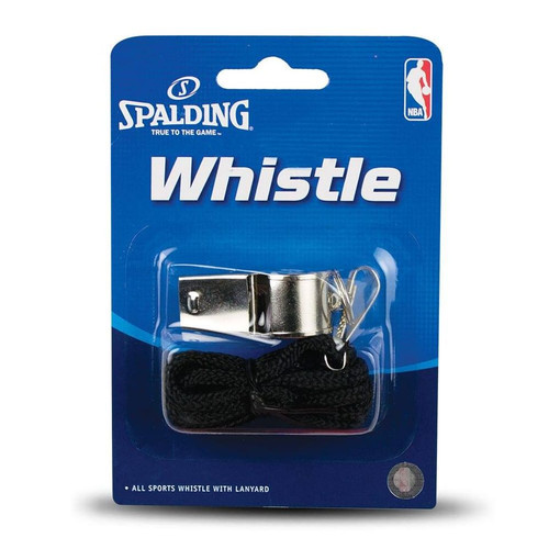 Spalding NBA whistle sports metal
