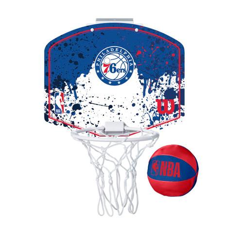 Wilson mini hoop Philly 76ers