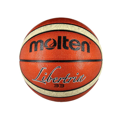 Molten Libertria Tan Indoor and Outdoor Composite Leather Basketball