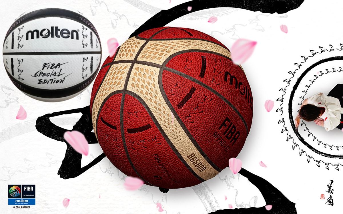 Molten's new FIBA Special Edition 3700 and 3800 SAKURA Basketballs