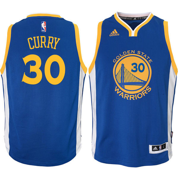 timeless design f9cf0 49e49 Adidas Stephen Curry Golden State Warriors (Away) Youth Jersey
