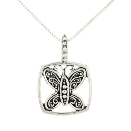 Social Butterfly Necklace