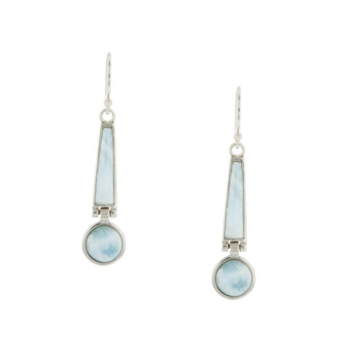 Larimar Deisgn Earrings