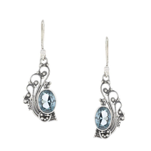 925 Silver Bali Oceanic Earrings