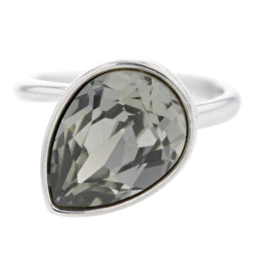 Sophia Chic Gunmetal Ring