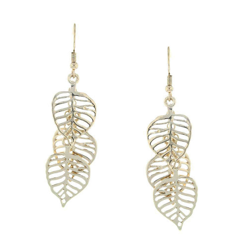 Chandelier Leaf Earrings