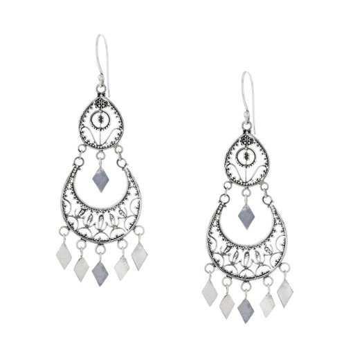925 Silver Chandelier Utopia Earrings