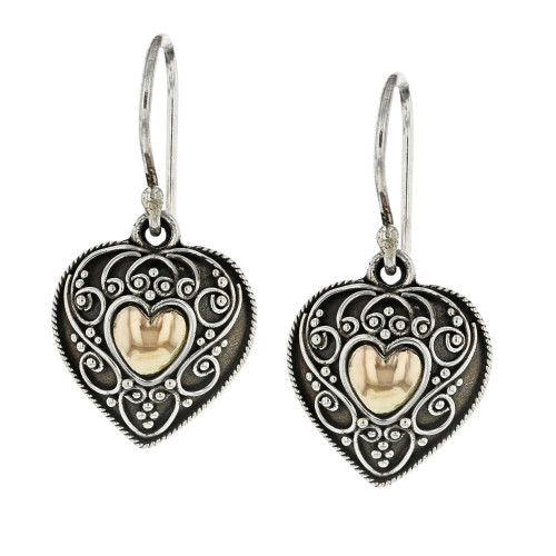 925 Silver Bali Cherish Earrings